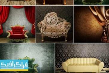 دانلود تصاویر استوک اتاق با مبل – طرح کلاسیک
