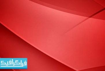 فایل لایه باز فتوشاپ پس زمینه قرمز انتزاعی – رایگان