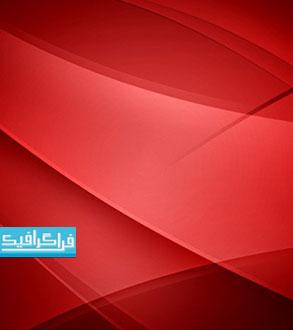 فایل لایه باز فتوشاپ پس زمینه قرمز انتزاعی - رایگان