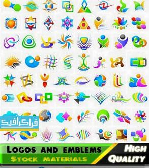 دانلود لوگو های وکتور انتزاعی - Abstract Logos - شماره 11