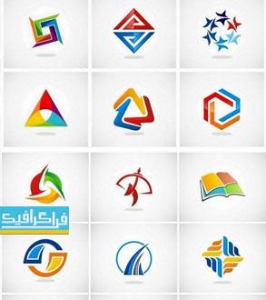 دانلود لوگو های وکتور انتزاعی - Abstract Logos - شماره 12