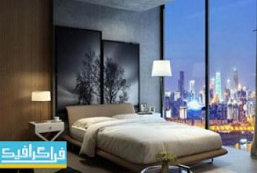 دانلود مدل 3 بعدی اتاق خواب مدرن – شماره 2