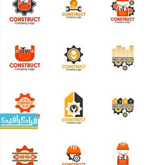 دانلود لوگو های ساخت و ساز - Construction Logos