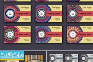دانلود کارت ویزیت طرح های تزئینی