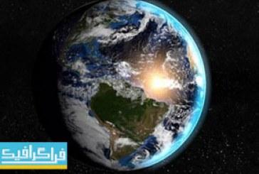 دانلود مدل سه بعدی کره زمین – واقعی