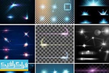 دانلود وکتور افکت های ویژه نورانی