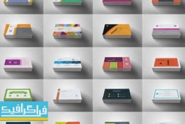 دانلود 100 کارت ویزیت لایه باز وکتور طرح مینیمال