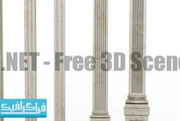 دانلود مدل سه بعدی ستون های کلاسیک – رایگان