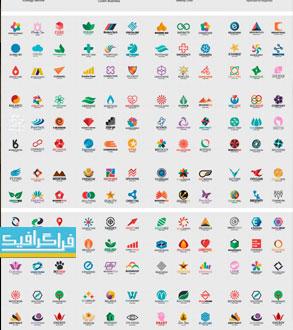 دانلود لوگو های وکتور انتزاعی - Abstract Logos - شماره 13