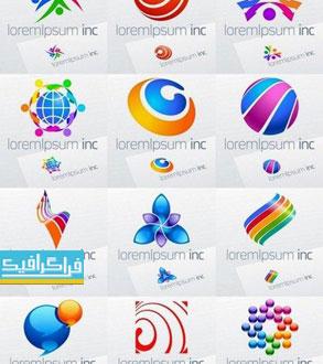 دانلود لوگو های وکتور انتزاعی - Abstract Logos - شماره 14