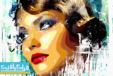 دانلود فایل لایه باز فتوشاپ قالب عکس هنری – شماره 21