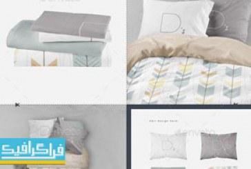 دانلود ماک آپ فتوشاپ تخت خواب – کامل