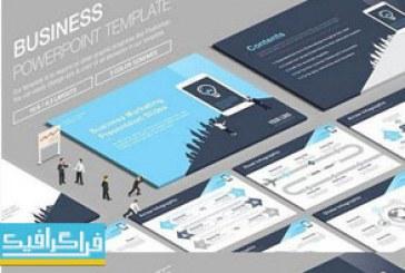 دانلود قالب پاورپوینت تجاری Business – شماره 11