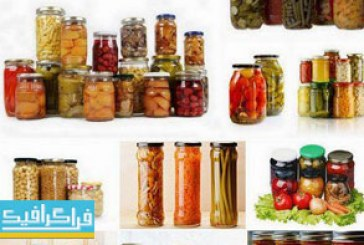 دانلود تصاویر استوک ترشی – Canned Vegetables
