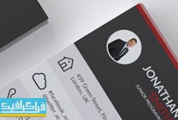 دانلود کارت ویزیت لایه باز فتوشاپ شرکتی – شماره 110