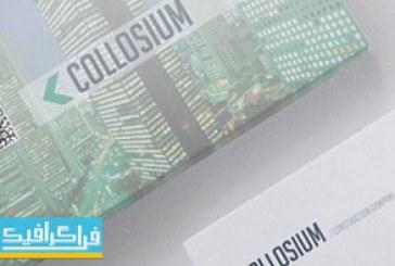 دانلود کارت ویزیت لایه باز فتوشاپ شرکتی – شماره 111