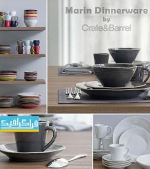 دانلود مدل سه بعدی ظروف غذا خوری - شماره 2