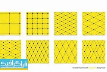 دانلود پترن های فتوشاپ خطی Line Patterns – شماره 2