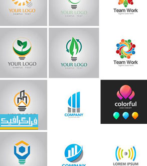 دانلود لوگو های مختلف وکتور لایه باز - شماره 128