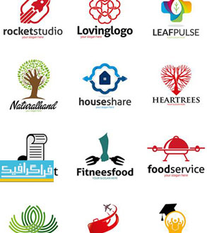 دانلود لوگو های مختلف وکتور لایه باز - شماره 137
