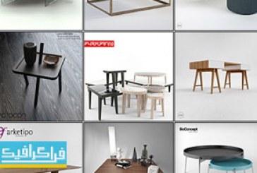 دانلود مدل سه بعدی میز های مدرن
