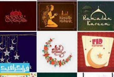 دانلود وکتور طرح های ماه مبارک رمضان – شماره 11
