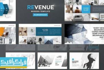 دانلود قالب پاورپوینت شرکتی و تجاری Revenue