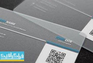 دانلود کارت ویزیت لایه باز فتوشاپ شفاف – شماره 2