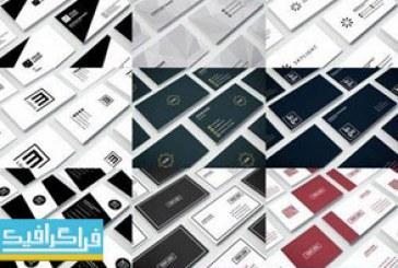 دانلود 35 کارت ویزیت لایه باز فتوشاپ طرح خلاقانه