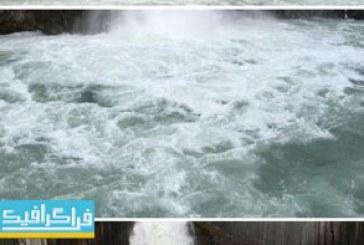 دانلود ویدیو فوتیج آبشار زیبا
