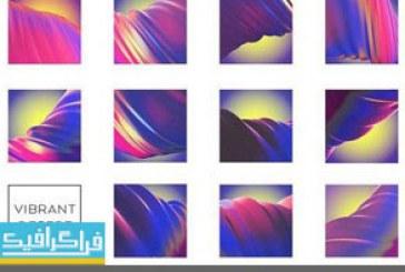 دانلود تکسچر های رنگارنگ – Colorful Textures – شماره 2