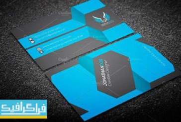 دانلود کارت ویزیت لایه باز وکتور شرکتی – شماره 123