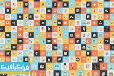 دانلود آیکون های تخت مختلف – Flat Icons – شماره 34