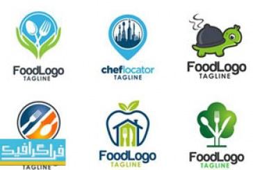 دانلود لوگو های غذا لایه باز وکتور – Food Logos