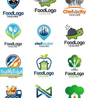 دانلود لوگو های غذا لایه باز وکتور - Food Logos