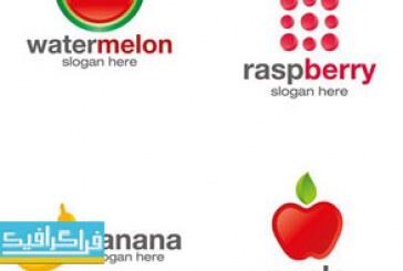 دانلود لوگو های میوه وکتور لایه باز – Fruit Logos