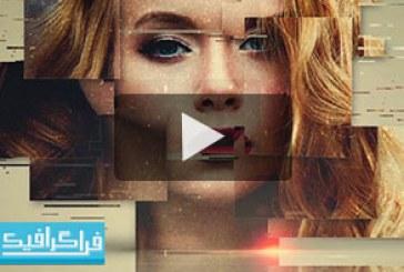 آموزش ویدیویی فتوشاپ ساخت افکت گلیچ قاب