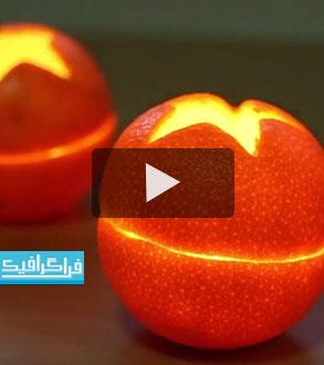 ویدیو : کاربردی و سرگرمی : 5 ایده برای ساخت شمع دکوری