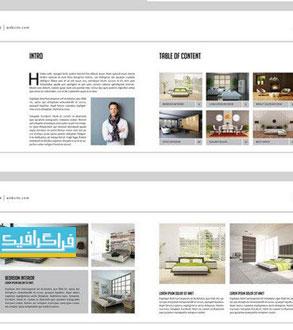 دانلود فایل لایه باز ایندیزاین بروشور طراحی داخلی - شماره 4
