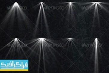 دانلود فایل لایه باز افکت های نور لامپ – شماره 5