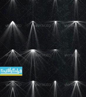 دانلود فایل لایه باز افکت های نور لامپ - شماره 5