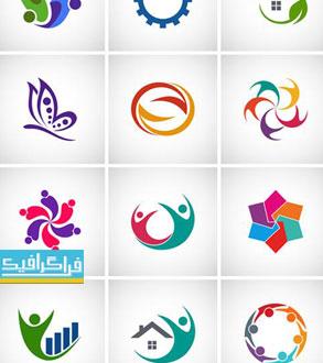 دانلود لوگو های مختلف وکتور لایه باز - شماره 145