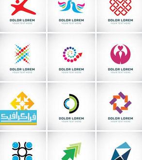 دانلود لوگو های مختلف وکتور لایه باز - شماره 158