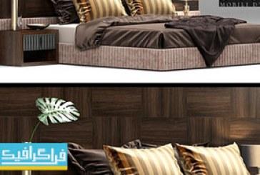 دانلود مدل سه بعدی تختخواب مدرن – شماره 2
