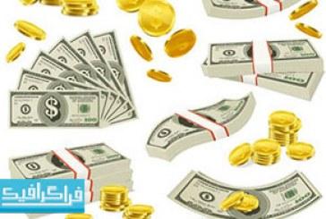 دانلود آیکون های وکتور پول و سکه – رایگان