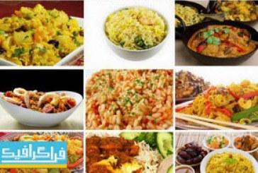 دانلود تصاویر استوک برنج و غذا های برنجی