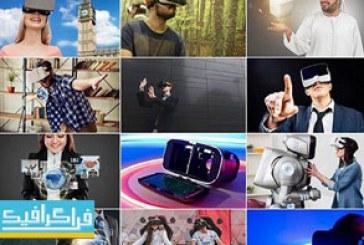 دانلود تصاویر استوک دوربین واقعیت مجازی 3 بعدی VR