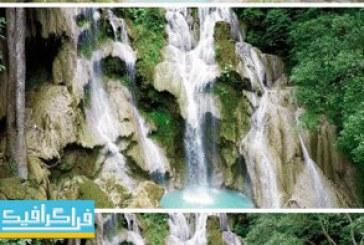 دانلود ویدیو فوتیج آبشار – فیلمبرداری از بالا