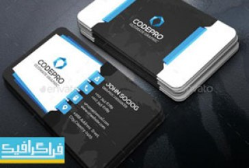 دانلود 2 کارت ویزیت لایه باز فتوشاپ شرکتی – شماره 9