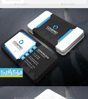 دانلود 2 کارت ویزیت لایه باز فتوشاپ شرکتی - شماره 9